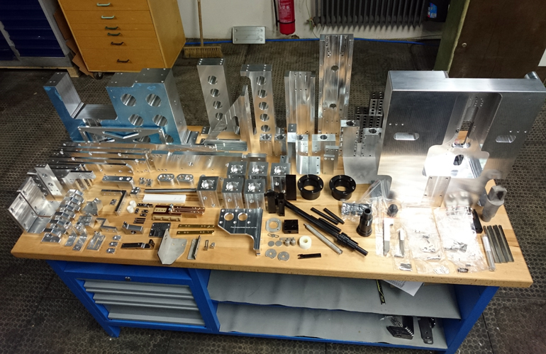 some of the manufactured components