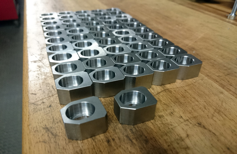 mounting blocks, tool steel