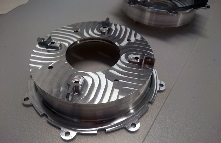 platen gearbox housing for STUBA Green Team racing car